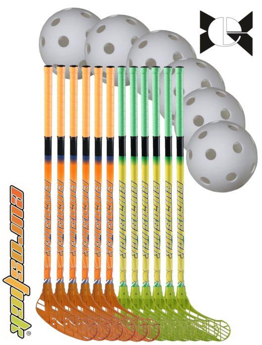Floorballschläger Set für die Schule 85 cm