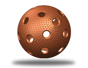 Floorball Ball Bronze Kupfer. Im Floorball Shop Berlin