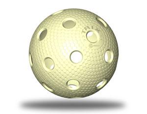 Floorball Spielball vanille