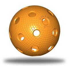 Floorball Wettkampfspielball in orange
