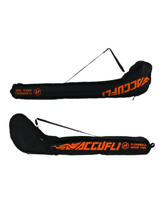 Tasche für Floorballschläger in schwarz und orange
