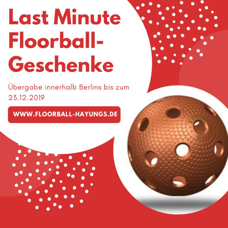 Floorball Geschenk Weihnachten