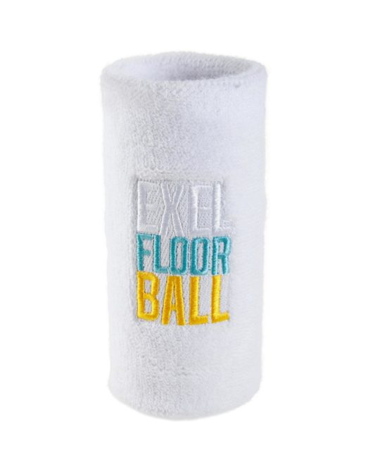 Floorball-Schweißband Exel Street weiß